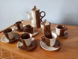 Kerámia kávés készlet