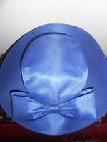 Kangol kalap női masnival királykék új!