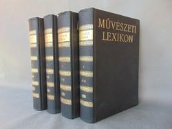 Művészeti lexikon 1-4..