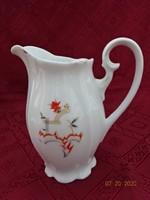 Meisseni porcelán tejkiöntő, magassága 15 cm.