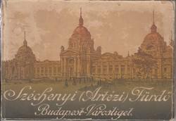 """SZÉCSHENYI (ARTÉZI) FÜRDŐ képes ismertetése 1914 """"BALNEOLOGIA"""""""