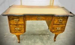 Neobarokk topolya íróasztal
