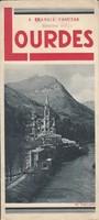 LOURDES a francia zarándokhely képes ismertetése 1935