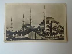 G029.112 Istanbul  Magyar focicsapat játékosainak aláírása ILKU Tóth II.  Csordás  Aranycsapat?