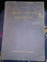 Német magyar kézi szótár, akadémiai, ajánljon!