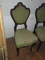 2 db neobarokk szék