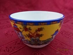 VICTORIA porcelán Csehszlovákia, antik pálinkás pohár.