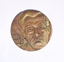 R. L. jelzéssel Orosházi bronz plakett