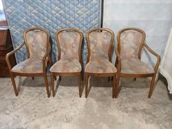 4 db design szék 2 db karos, 2 db támlás