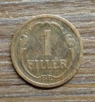 1 Fillér 1933 BP.
