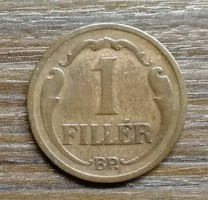 1 Fillér 1927 BP.