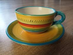 Hódmezővásárhelyi kerámia teás csészék gyűjtőknek