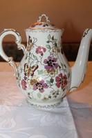 Zsolnay pillangó mintás teás kiöntő