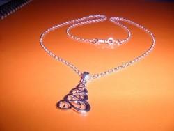 Végtelen ezüst Piramis 925 ezüst uniszex nyaklánc