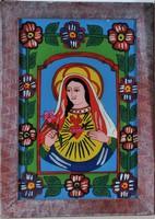 Festett erdélyi ortodox üvegikonok,