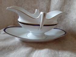 H&C Haas Czjzek Cseh porcelán mártás, szószos tál 1918-1945