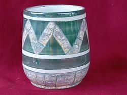 57 Costa ceramiche különleges mázas kerámia váza 10x7,5 cm