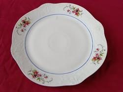 55 Antik Stipo Dorohoi porcelán süteményes tál domború mintával 28 cm