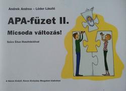 Andrek-Léder: Apa füzet 2., ajánljon!