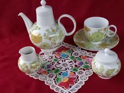 044 1 személyes Heinrich teás v. kávés szett a kancsó 17 a csésze 7,5 cm