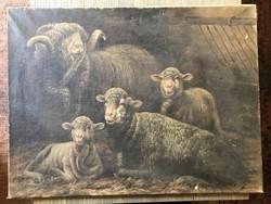 Harmann Béla festmény