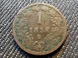 Ausztria Ferenc József 1 Krajcár 1858 B (id29930)