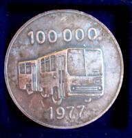 IKARUS - 1977 - jubileumi emlékérem - 100.000. autóbusz elkészülte