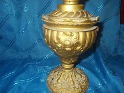 Antik puttófejes petróleum lámpa