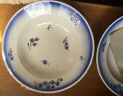 Búzavirág mintás gránit tányérok (2 db)