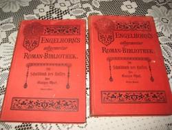 Régi gót betűs regény  1892    I- II.