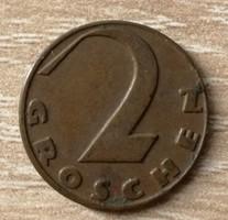 Ausztria 2 Groschen 1936