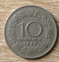 Ausztria 10 Groschen 1925