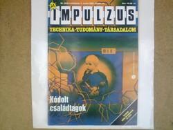 Régi újság -  Impulzus (2 db. 1986 és 1987) Technika - Tudomány - Társadalom