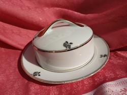 Gyönyörű porcelán kaviár kínáló