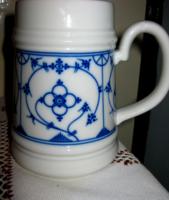 Bavaria korsó krigli szalma mintás porcelán