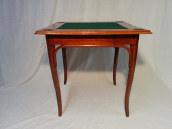 Thonet drawer card, game table