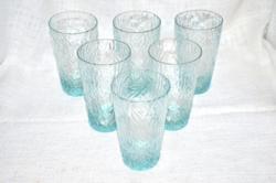 6 db limonádés pohár  ( DBZ 0065 )