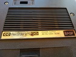 BASF CC Recorder 9110 CrO2 típusú retro hangfelvevő