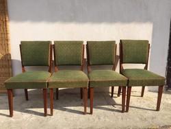 4 db réges régi szék