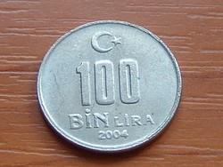 TÖRÖKORSZÁG 100 BIN 100.000 LÍRA 2004 #