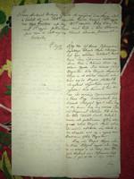 Kis Komárom/Komárváros/ 1815. január 2. Nemes Turkovich  Mátyás előző esztendőben elnyugván ....