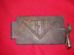 Antik öntöttvas kandalló /kályha / sparhelt ajtó a képek szerint