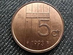 Hollandia Beatrix (1980-2013) 5 Cent 1993 (id31050)