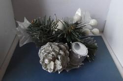 Retro karácsonyfa dísz dobbal