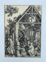 Albrecht Dürer - The Nativity (The Adoration of the Shepherds) - vintage nyomat