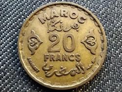 Marokkó V. Mohammed (1927-1961) 20 frank 1952 (id30195)