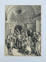 Albrecht Dürer - The Circumcision of Christ- vintage nyomat