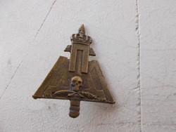 WW2, Szerbian csetnik sapka jelvény