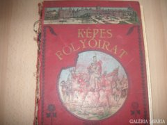 Képes Folyóirat,  1903 ból, igazán  érdekes  , 1903, 28x 20 x 5 cm, szerk. Nagy Miklós, 33 lefűzött