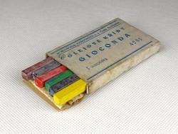 1B540 Régi Gioconda Kohinoor színes kréta írószer készlet eredeti dobozában